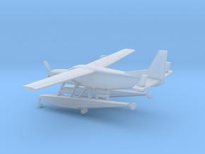 Cessna 208A Caravan Amphibian in Smooth Fine Detail Plastic: 1:200