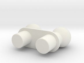 Moli Wing Adaptor for ModiBot in White Natural Versatile Plastic