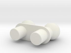 Moli Wing Adaptor for ModiBot in White Natural Versatile Plastic