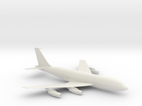 Airplane in White Natural Versatile Plastic
