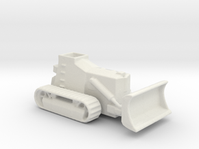 Armoured Bulldozer  d7 1/200 ww2 in White Natural Versatile Plastic