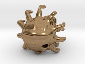 The dark energy Starfish craft in Natural Brass