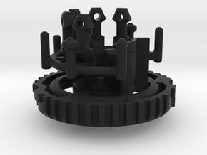 Graflex Master Chassis - Part 5/5 var2 - CC 2 in Black Premium Strong & Flexible