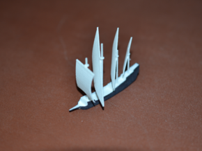 1/700 Caravela de Armada version 2 in White Natural Versatile Plastic
