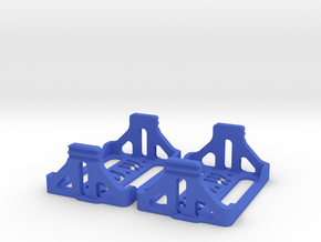WUN FRD SADDLE TRAYS in Blue Processed Versatile Plastic