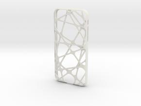 iPhone 6 / 6S Case_Cross in White Premium Versatile Plastic