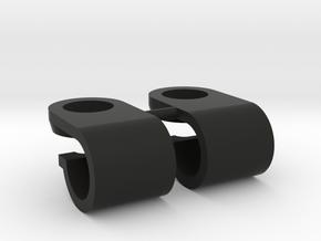 Support de gyrophare Pistenking pour rampe de 5mm  in Black Premium Strong & Flexible
