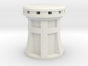 XIX century Capstan scale 1:36 in White Natural Versatile Plastic