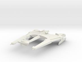 Alt Klingon KaTor Class BattleShip in White Natural Versatile Plastic