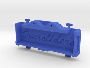 YOKOMO DP SHORTY REAR TRAY in Blue Processed Versatile Plastic