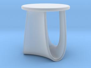 Miniature Sag Stool - Mdf Italia / Nendo in Smooth Fine Detail Plastic: 1:12
