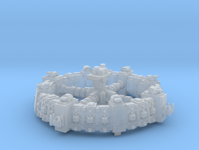 Estacion orbital de defensa  in Smooth Fine Detail Plastic