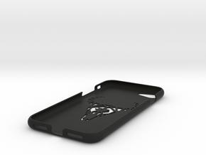 Iphone 7 Case, Geometric Bull in Black Strong & Flexible