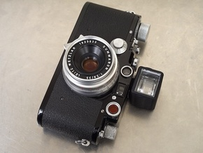 35mm Viewfinder - top cover in Black Strong & Flexible