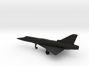Dassault Mirage IIIV in Black Natural Versatile Plastic: 1:200