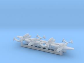 (1:700) (x4) Henschel Hs 132  in Smooth Fine Detail Plastic