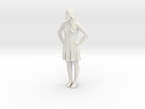 Printle C Femme 737 - 1/28 - wob in White Natural Versatile Plastic