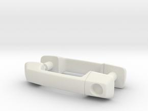 RCN106 Door handles for HPI Venture in White Natural Versatile Plastic