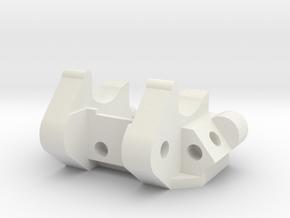Slash Pack V10 Shapeways in White Natural Versatile Plastic