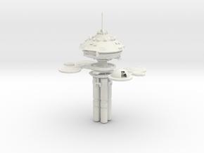 Space Station Regula in White Natural Versatile Plastic
