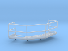 1/64 12' Tower Catwalk Polygon Left in Smooth Fine Detail Plastic