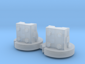1:64 IH Dual Hub Pair in Smooth Fine Detail Plastic