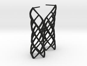 Caprichosa Earrings in Black Premium Strong & Flexible