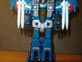 Sunlink - Seeker Tri-Clip w/ Removable Missiles in White Strong & Flexible