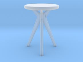 Miniature Tree Table - Tonin Casa in Smooth Fine Detail Plastic: 1:12