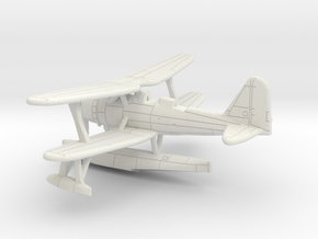 1/285 IJN Mitsubishi F1M2 'Pete' Type 0 Observatio in White Natural Versatile Plastic