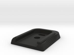BLU_Base_16Mar2018 in Black Premium Versatile Plastic