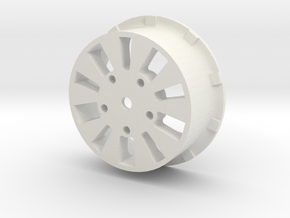 sawtooth beatlock wheels 2.0, part 2/3 rear in White Premium Strong & Flexible