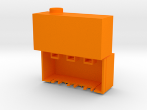 Aim TTi Bench PSU Terminal Cover in Orange Processed Versatile Plastic
