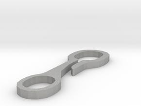 Schlüsselbund-Hosenhaken in Aluminum