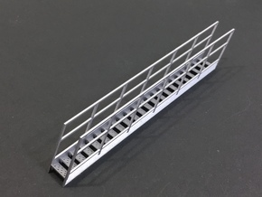 1/64 Bin Roof Stairs 42 in Smooth Fine Detail Plastic