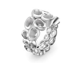 Neitiry Organic  Ring (From $13) in Polished Silver: 6.5 / 52.75