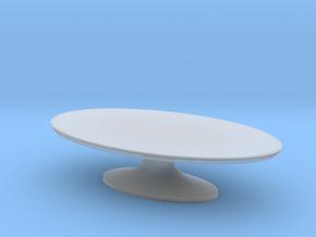 Miniature Atlantic Table - Bugatti Home in Smooth Fine Detail Plastic: 1:24