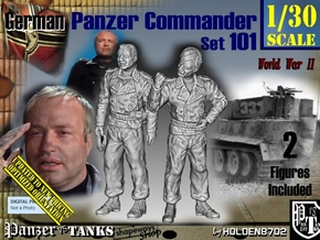 1/30 German Tanker Karl-Otto Set101 in Smooth Fine Detail Plastic