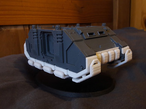 Hover Rhinoceros conversion kit in White Processed Versatile Plastic
