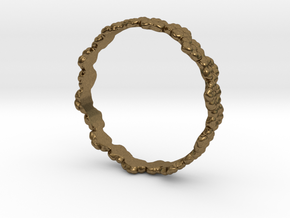 flower ring in Natural Bronze: 4.5 / 47.75
