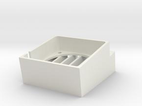 Amiga Cooling Vent - Medium in White Natural Versatile Plastic