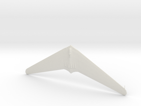 1:285  Horten-XVIII  Amerika Bomber    (Gear Down) in White Natural Versatile Plastic