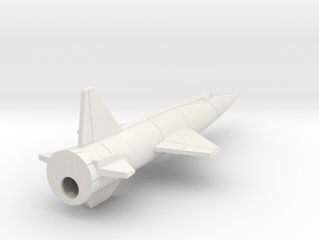 "(1:144) Douglas D-558-3 ""Skyflash"" in White Natural Versatile Plastic"