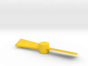 Microman Uniquer Propeller in Yellow Processed Versatile Plastic