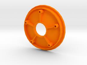 losi jrxt inside wheel half in Orange Processed Versatile Plastic