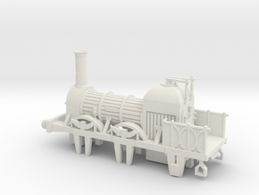 00 Scale Lion (Titfield Thunderbolt) Loco  in White Natural Versatile Plastic
