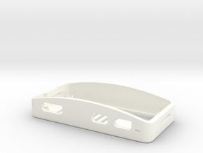 Raspberry Pi Zero Wi-Fi Case Bottom in White Processed Versatile Plastic