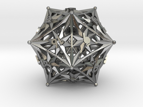 D20 Balanced - Radiant in Natural Silver