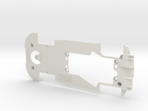 PSCA00501 Chassis for Carrera Ferrari F488 GT3 in White Natural Versatile Plastic