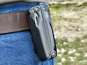 Leatherman Charge TTI Holster in Black Strong & Flexible: Small